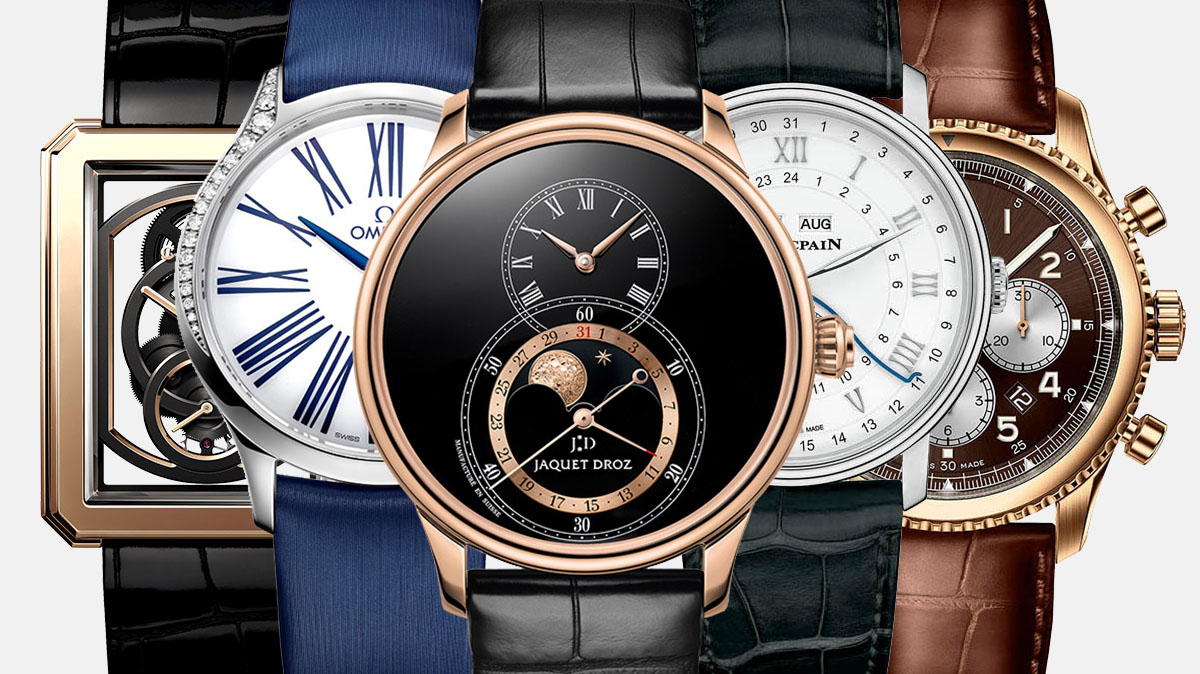 Pre Baselworld 2018 – Chanel, Omega, Jaquet Droz, Blancpain, Breitling
