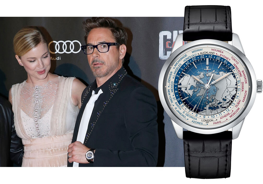 Robert Downey Jr – Jaeger-LeCoultre Geophysic Universal Time Ref. 8108420