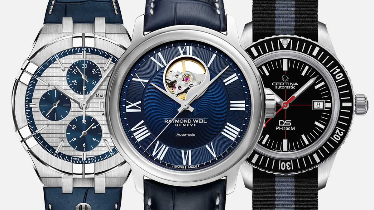 Maurice Lacroix Aikon Automatic Chronograph – Raymond Weil Maestro Blues – Certina DS PH200M