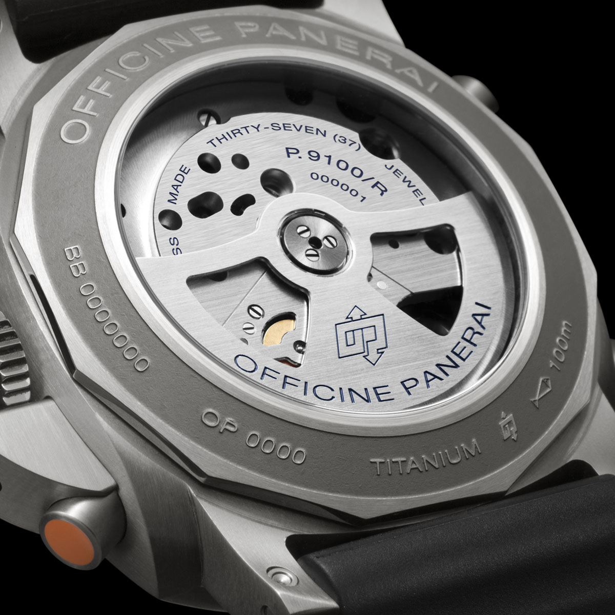 Panerai Luminor 1950 Regatta 3 Days Chrono Flyback Automatic Titanio - 47MM (PAM00526)