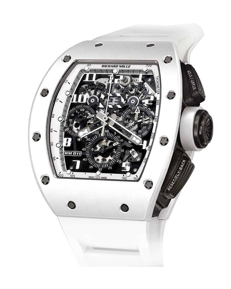 Richard Mille RM 011 Flyback Chronograph White Ghost