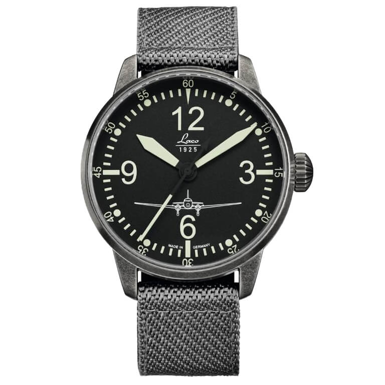 Laco DC-3 Used Look 42 mm Automatic Ref. 861901
