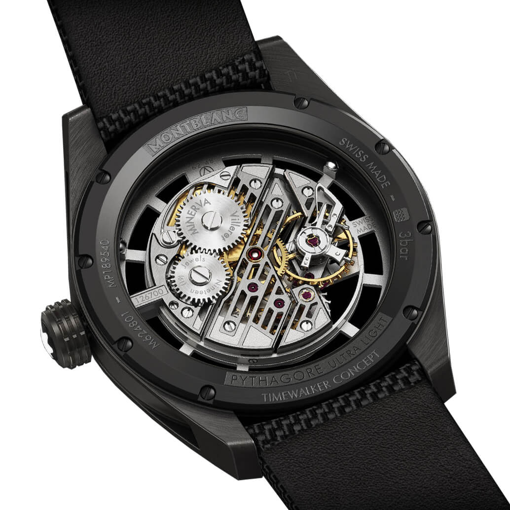 Montblanc TimeWalker Pythagore Ultra-Light Concept