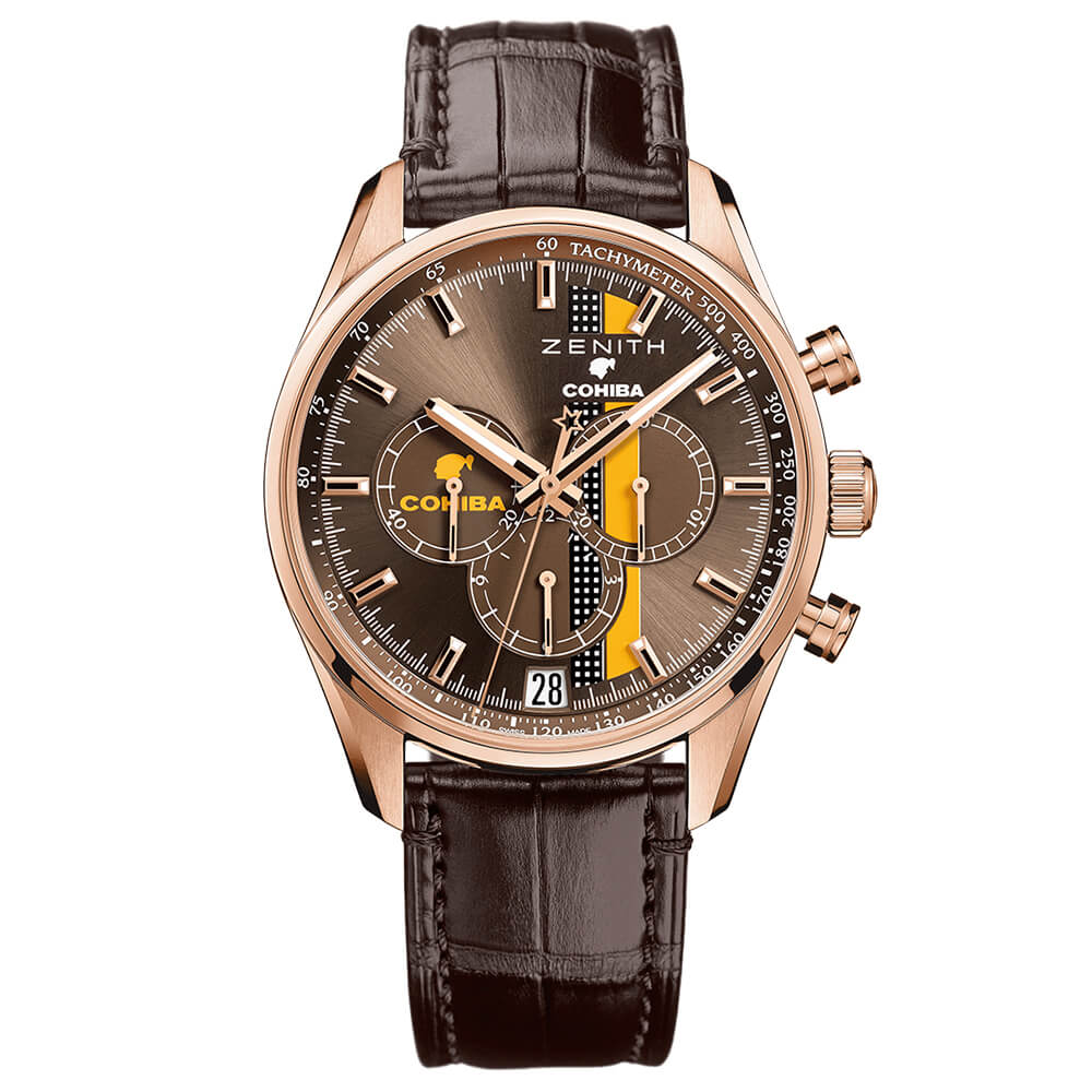 Zenith Chronomaster Primero Legend of Cohiba