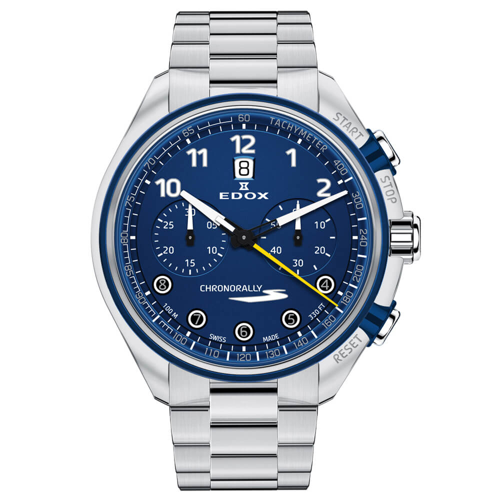 Edox Chronorally-S Automatic Chronograph
