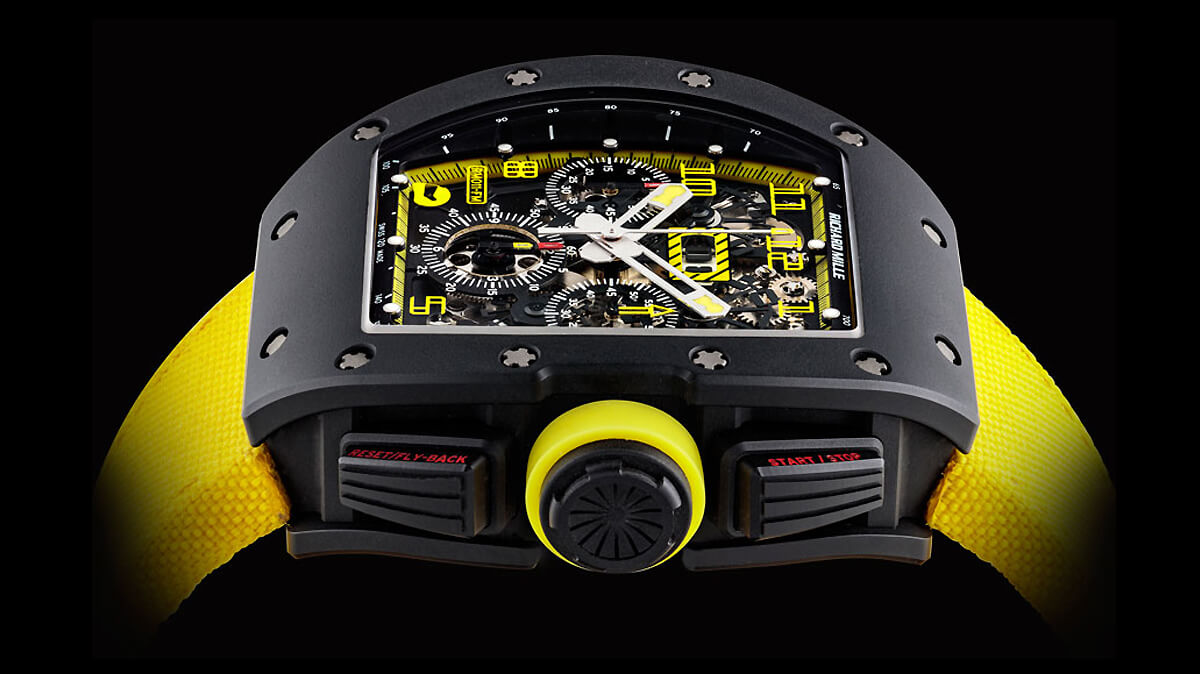 Richard Mille RM 011 Felipe Massa Carbon Flyback Chronograph Limited Edition
