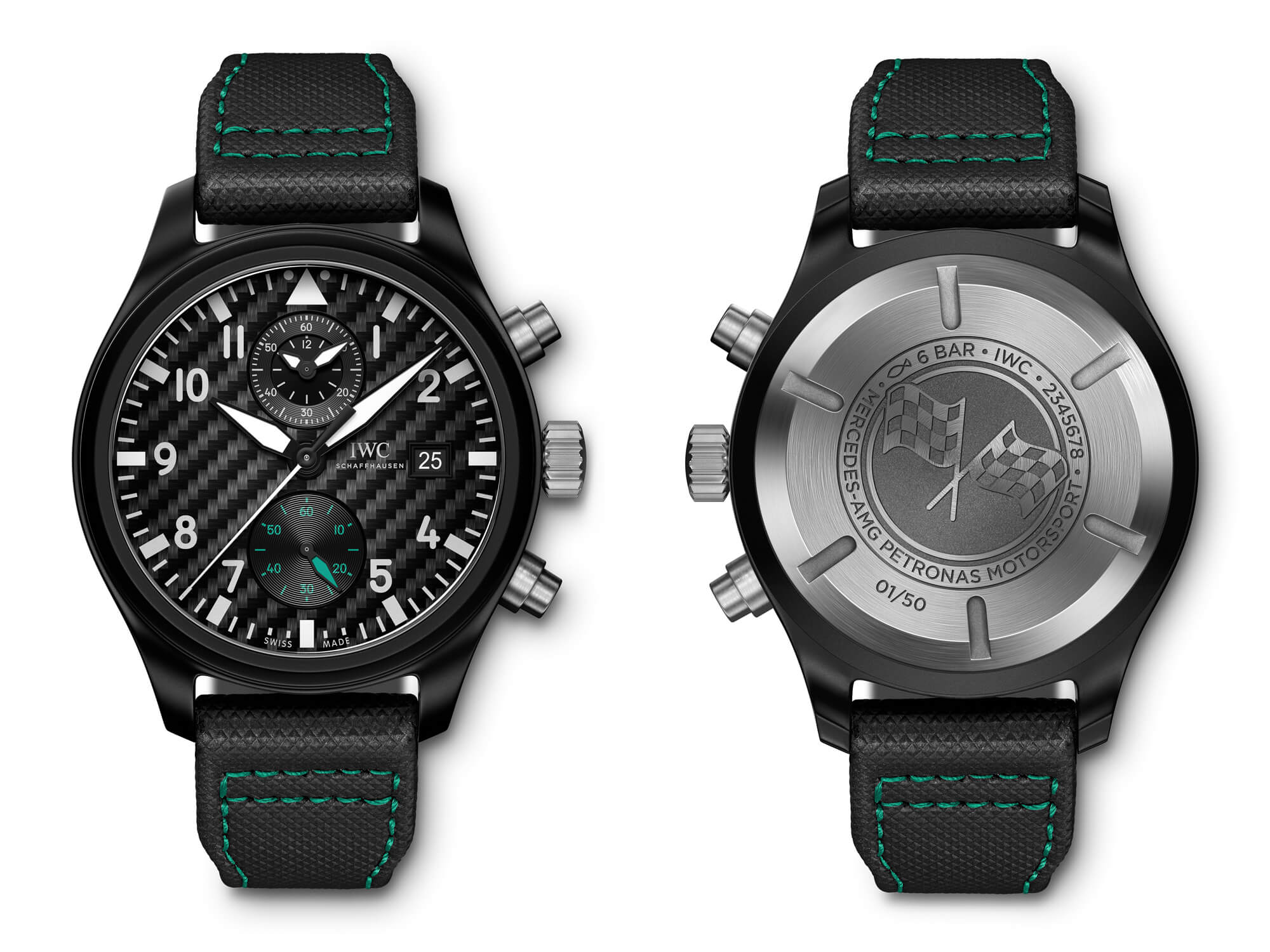 "IWC Pilot's Watch Chronograph Edition ""Mercedes-Amg Petronas Motorsport"""