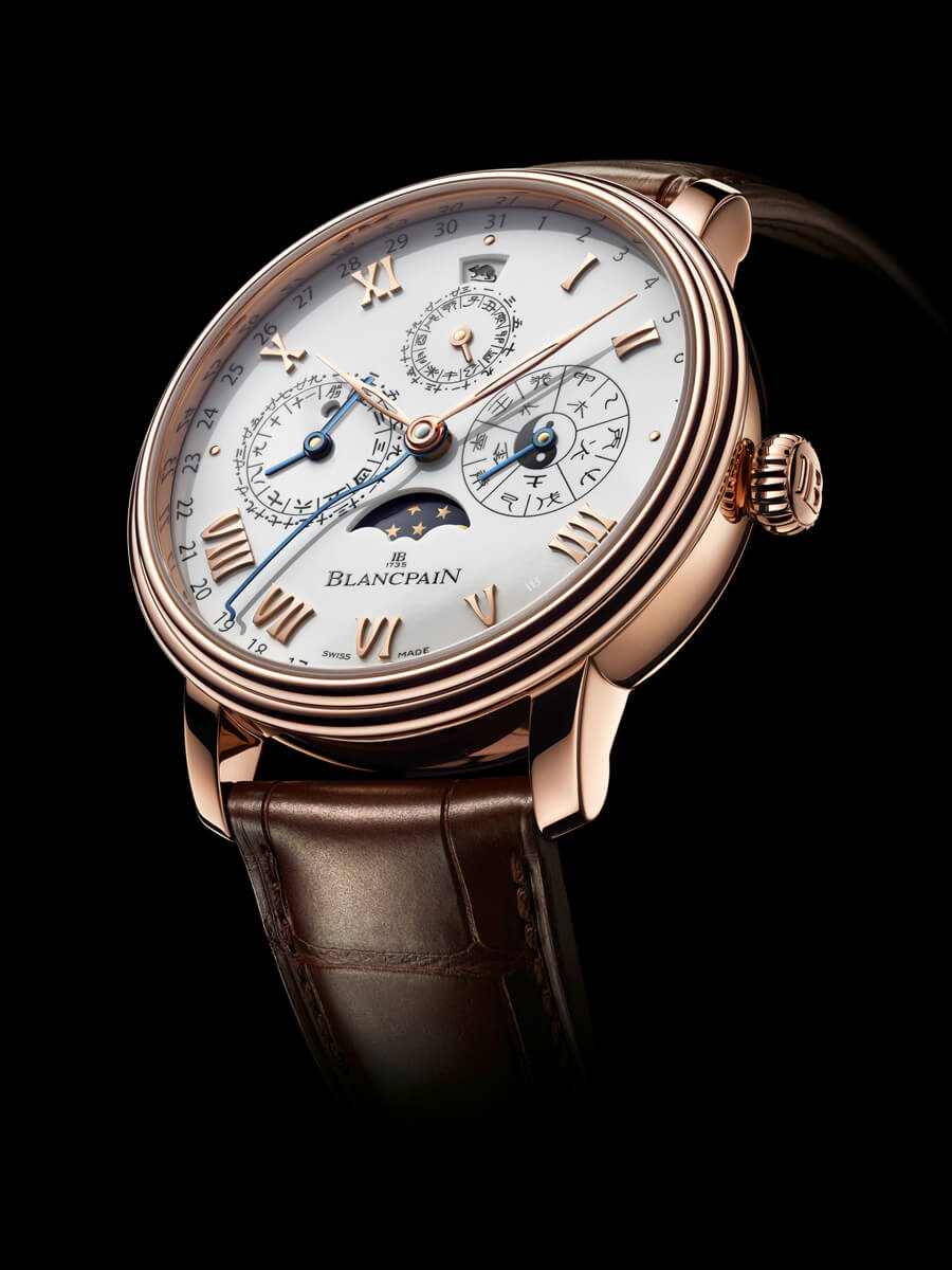 Blancpain Villeret Calendrier Chinois Traditionnel