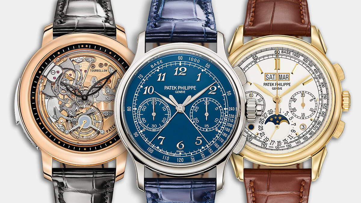 Patek Philippe Grand Complications: трое из ларца усложнений