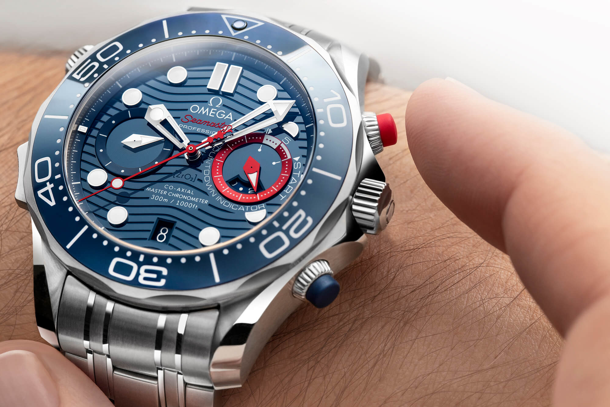 Seamaster Diver 300M Master Co-Axial 44 Chronograph America's Cup